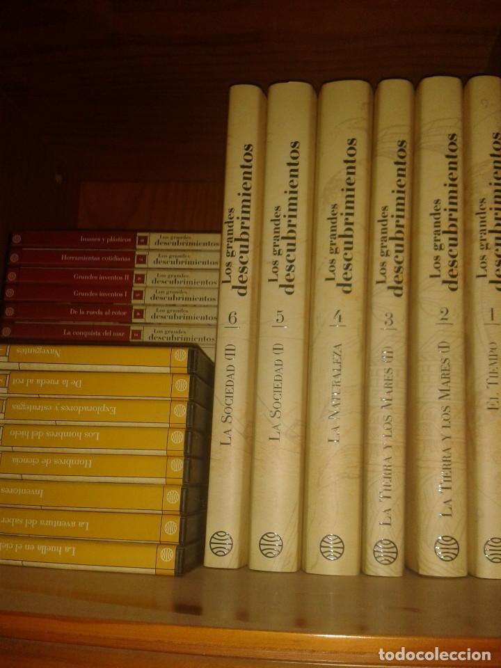 ENCICLOPEDIA LOS GRANDES DESCUBRIMIENTOS + 24 DVDS (Libros Nuevos - Diccionarios y Enciclopedias - Enciclopedias)