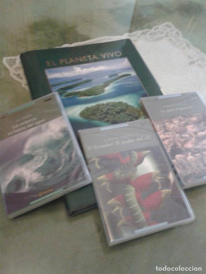Enciclopedias: Enciclopedia El Planeta vivo + dvds - Foto 2 - 127906143