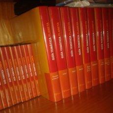 Enciclopedias: GUÍA TEMÁTICA PLANETA ESO Y BACHILLERATO + DVDS. Lote 127907623