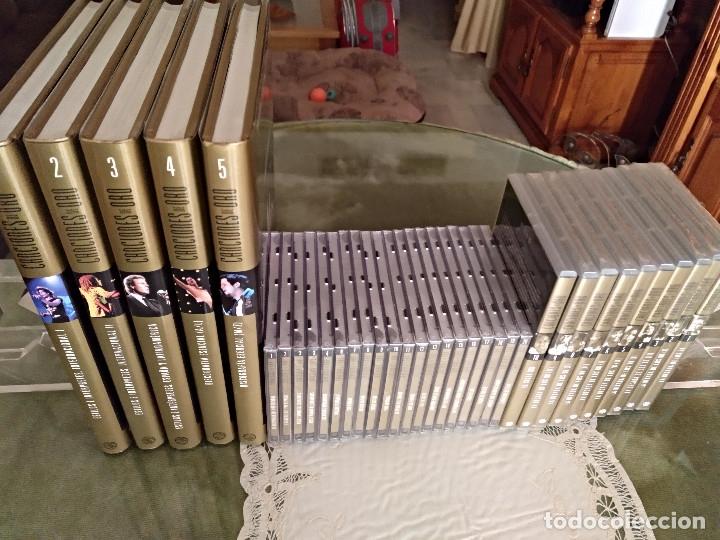 Enciclopedias: Canciones de oro (tomos cds dvds) - Foto 2 - 127907359