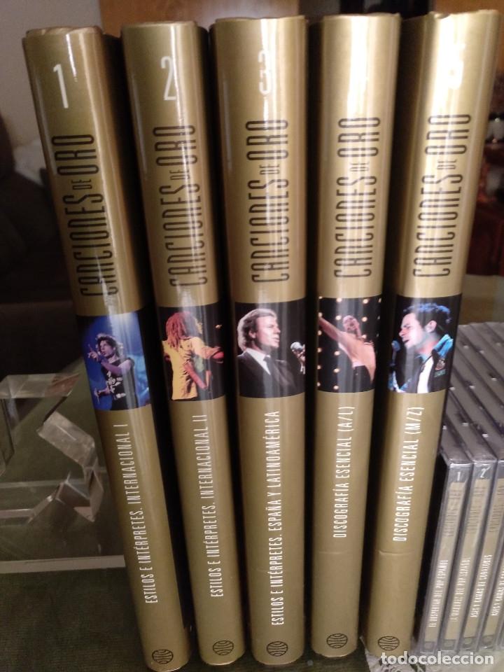 Enciclopedias: Canciones de oro (tomos cds dvds) - Foto 5 - 127907359