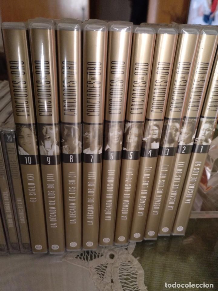 Enciclopedias: Canciones de oro (tomos cds dvds) - Foto 7 - 127907359