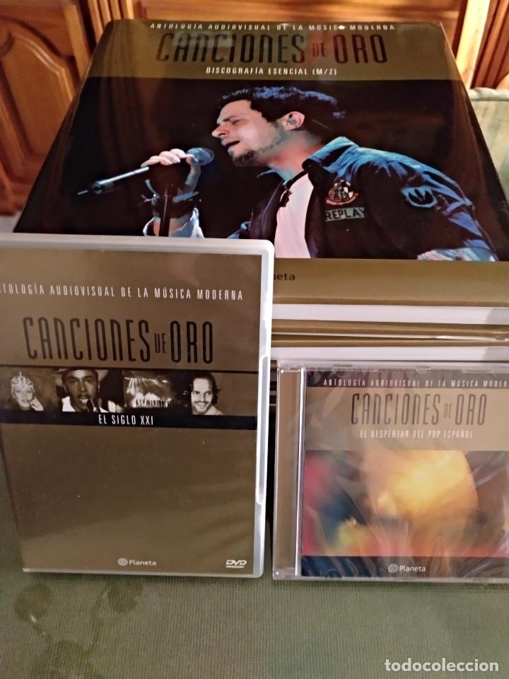 Enciclopedias: Canciones de oro (tomos cds dvds) - Foto 8 - 127907359