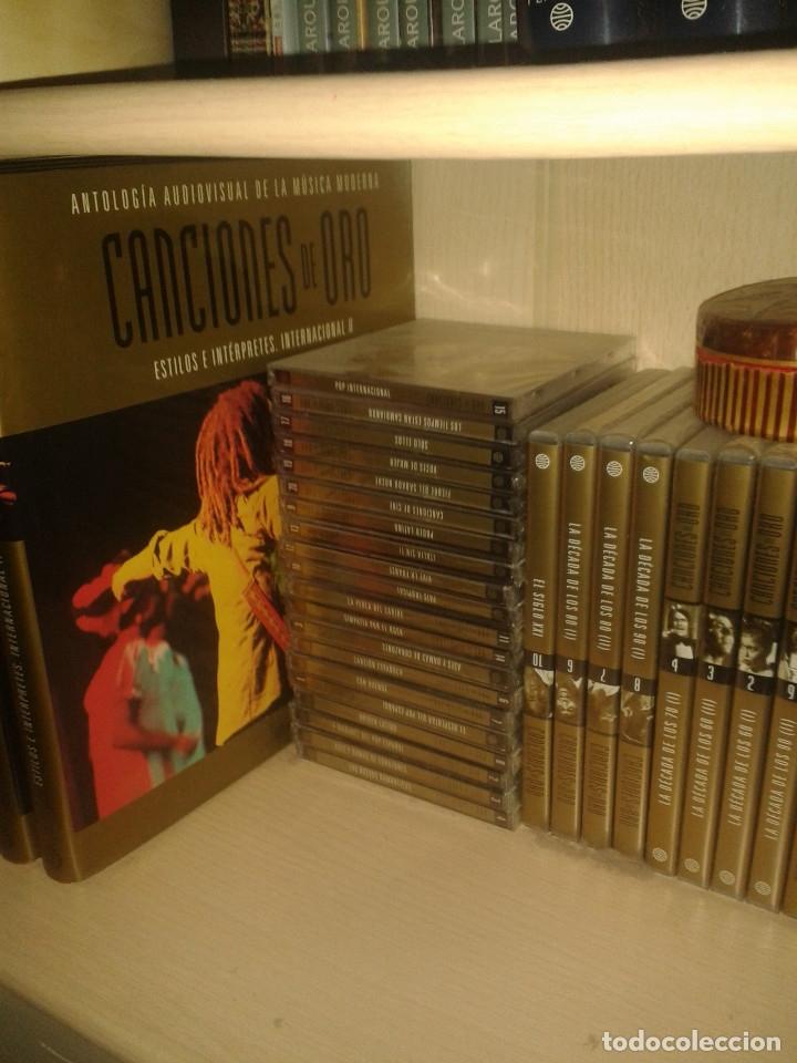 Enciclopedias: Canciones de oro (tomos cds dvds) - Foto 9 - 127907359