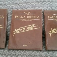 Enciclopedias: FÉLIX RODRÍGUEZ DE LA FUENTE FAUNA IBERICA EL HOMBRE Y LA TIERRA SALVAT. Lote 129301547