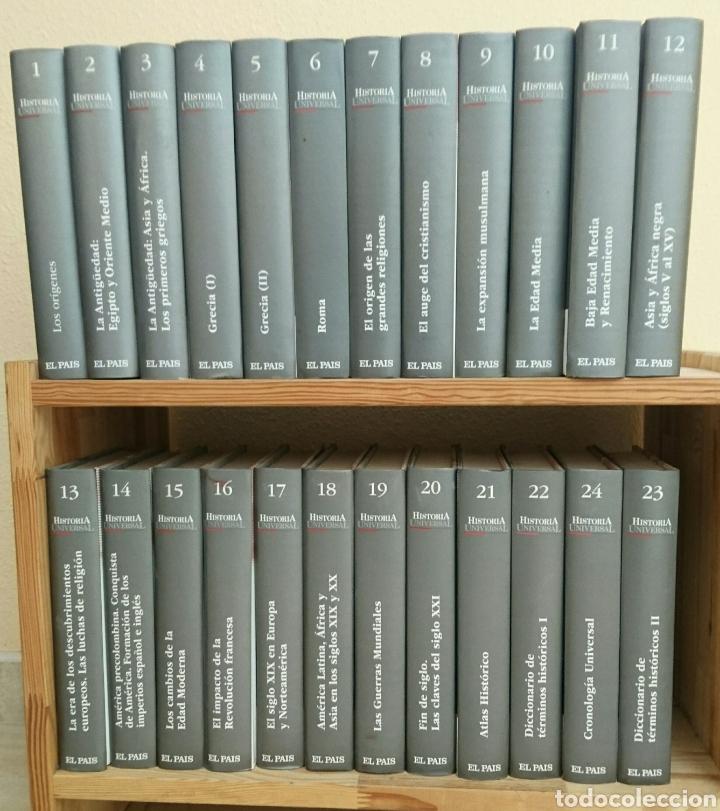 HISTORIA UNIVERSAL (Libros Nuevos - Diccionarios y Enciclopedias - Enciclopedias)