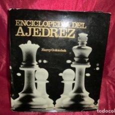 Enciclopedias: ENCICLOPEDIA DEL AJEDREZ. Lote 131464434