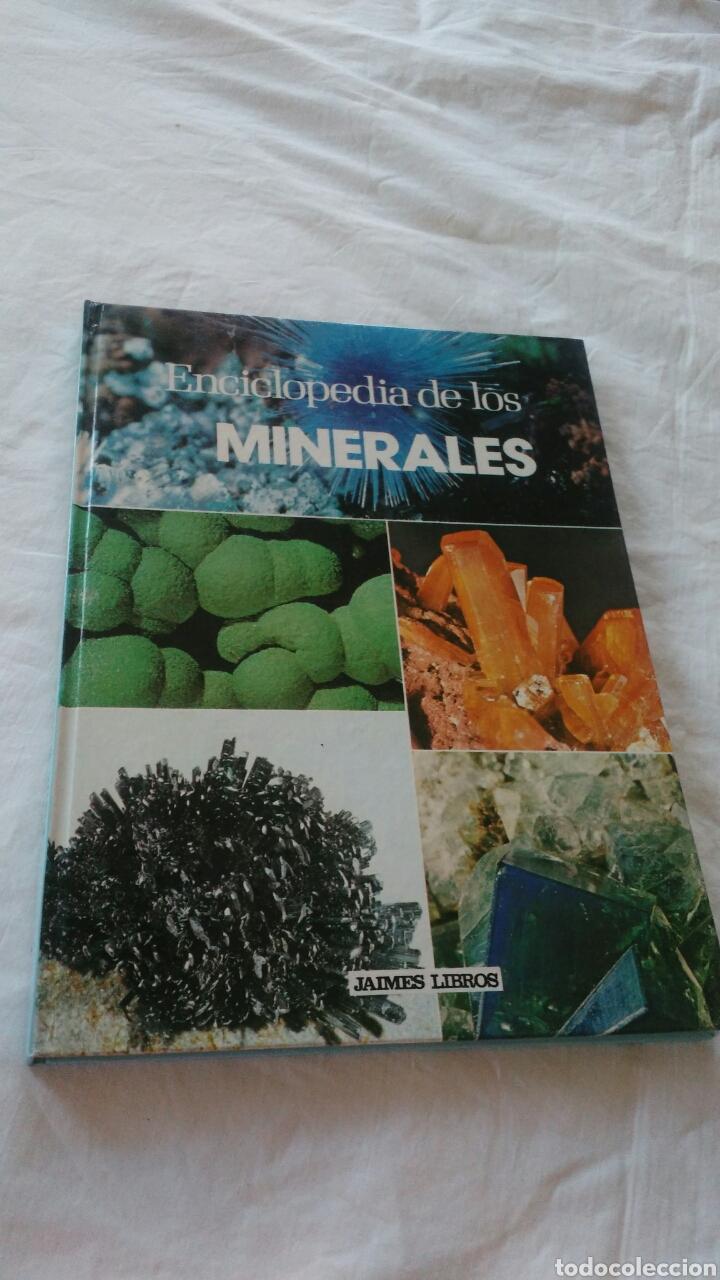 ENCICLOPEDIA DE LOS MINERALES JAIMES LIBROS POR PIERRE BARIAND (Libros Nuevos - Diccionarios y Enciclopedias - Enciclopedias)