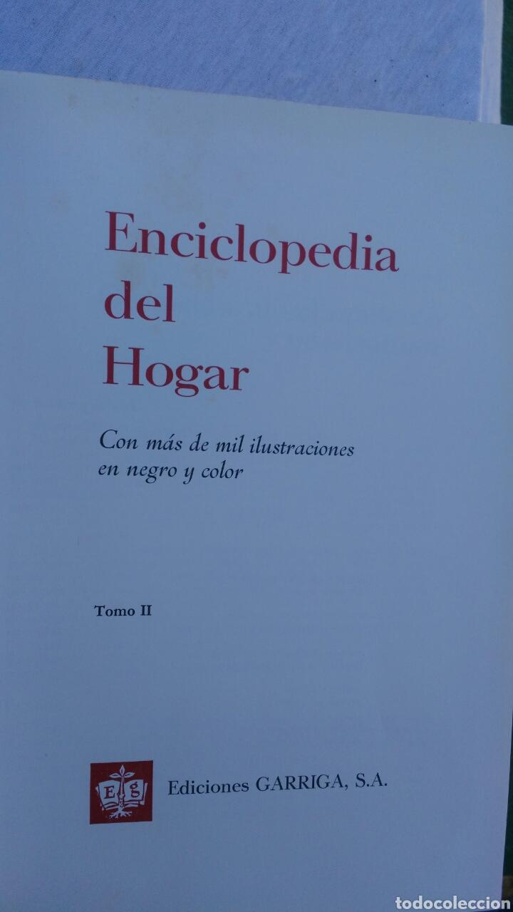Enciclopedias: ENCICLOPEDIA DEL HOGAR.COMPLETA.EDICIONES GARRIGA - Foto 3 - 133553641