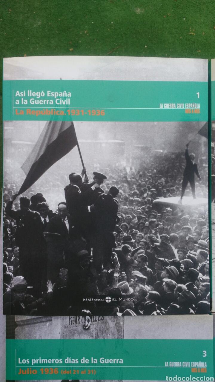 Enciclopedias: LA GUERRA CIVIL ESPAÑOLA.4 TOMIS. LA REPUBLICA,LOS PRIMEROS DIAS,SUBLEVACION Y SE DEFINEN LOS FRENTE - Foto 2 - 133558878