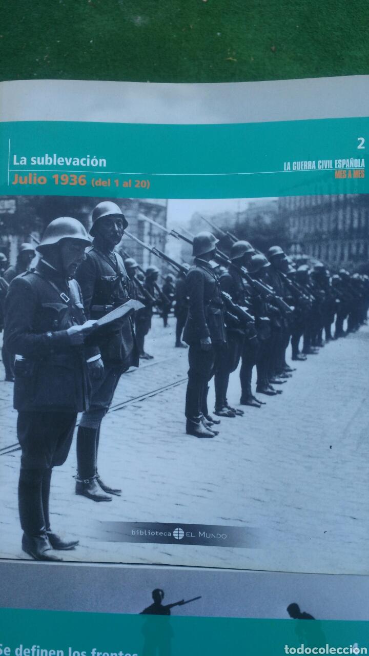 Enciclopedias: LA GUERRA CIVIL ESPAÑOLA.4 TOMIS. LA REPUBLICA,LOS PRIMEROS DIAS,SUBLEVACION Y SE DEFINEN LOS FRENTE - Foto 3 - 133558878