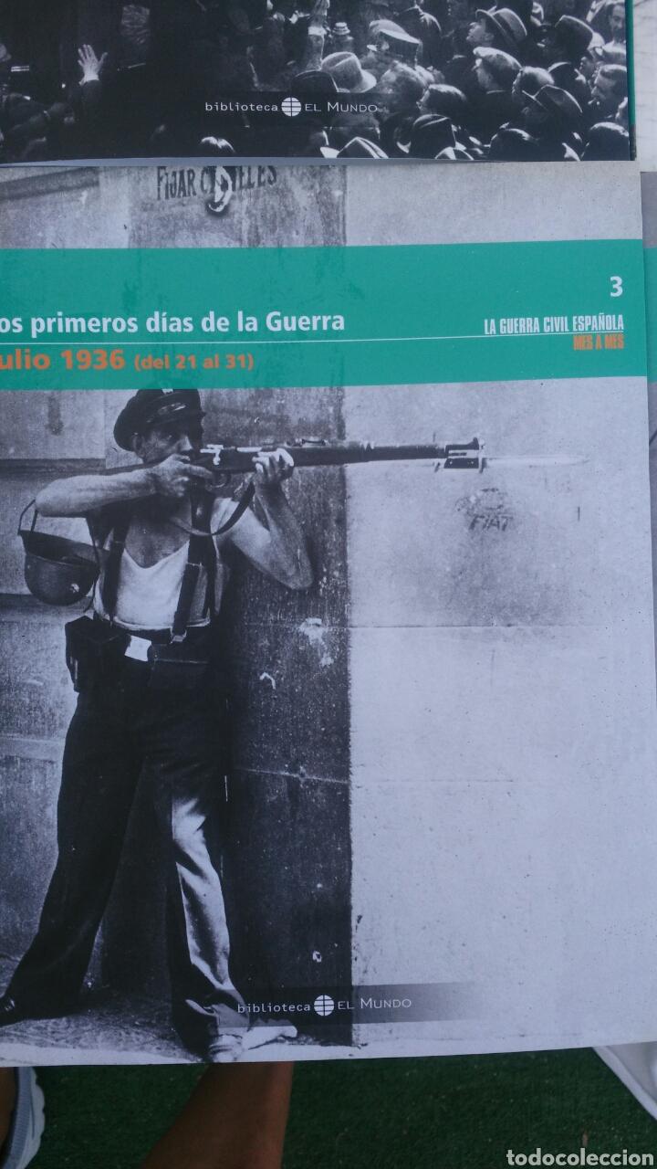Enciclopedias: LA GUERRA CIVIL ESPAÑOLA.4 TOMIS. LA REPUBLICA,LOS PRIMEROS DIAS,SUBLEVACION Y SE DEFINEN LOS FRENTE - Foto 4 - 133558878
