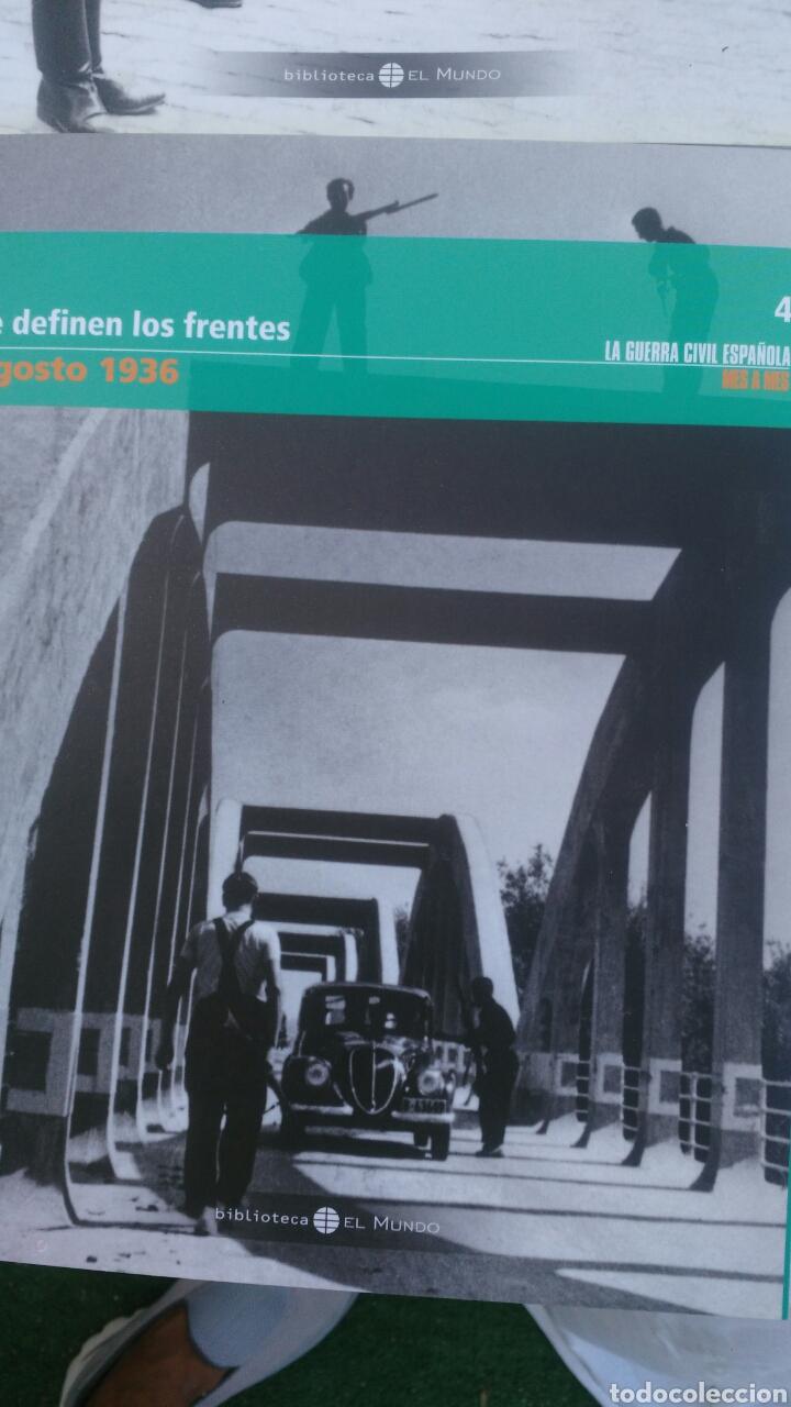 Enciclopedias: LA GUERRA CIVIL ESPAÑOLA.4 TOMIS. LA REPUBLICA,LOS PRIMEROS DIAS,SUBLEVACION Y SE DEFINEN LOS FRENTE - Foto 5 - 133558878