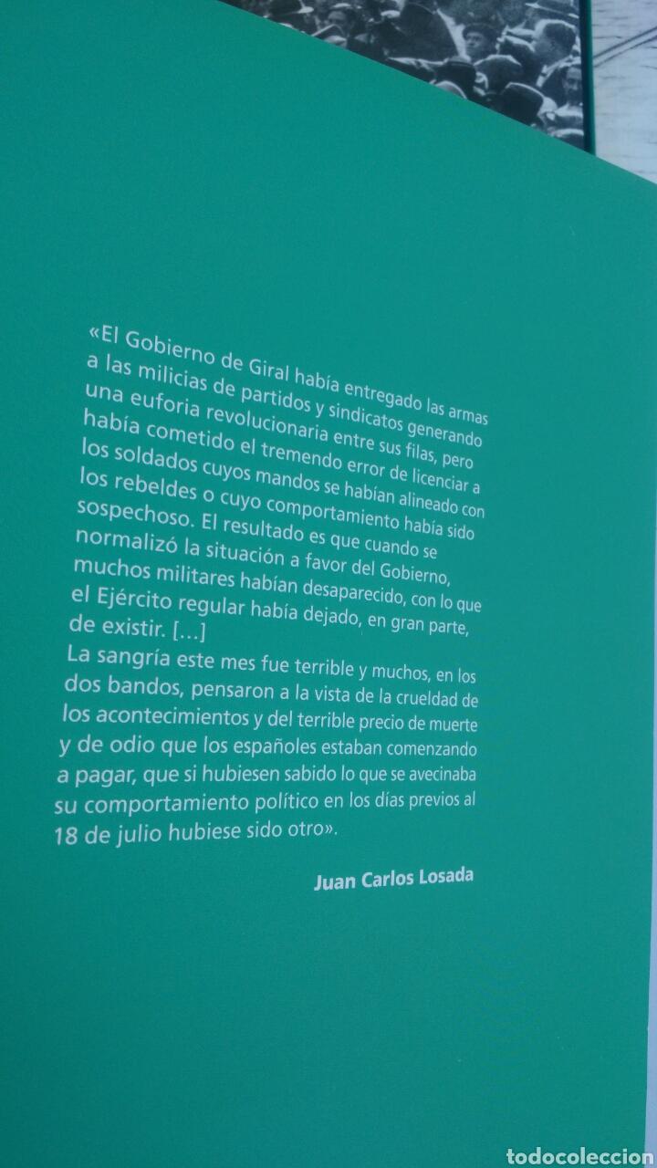 Enciclopedias: LA GUERRA CIVIL ESPAÑOLA.4 TOMIS. LA REPUBLICA,LOS PRIMEROS DIAS,SUBLEVACION Y SE DEFINEN LOS FRENTE - Foto 6 - 133558878