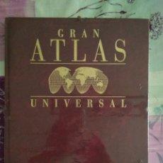 Enciclopedias: GRAN ATLAS UNIVERSAL. TOMO 5 INDICE. Lote 136178808