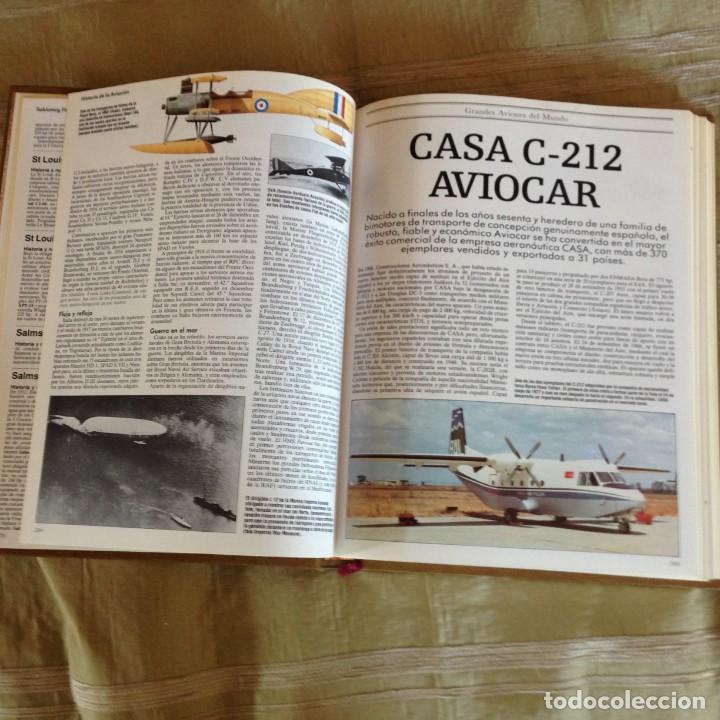 Enciclopedias: Enciclopedia ilustrada de la Aviación - Foto 2 - 137347774
