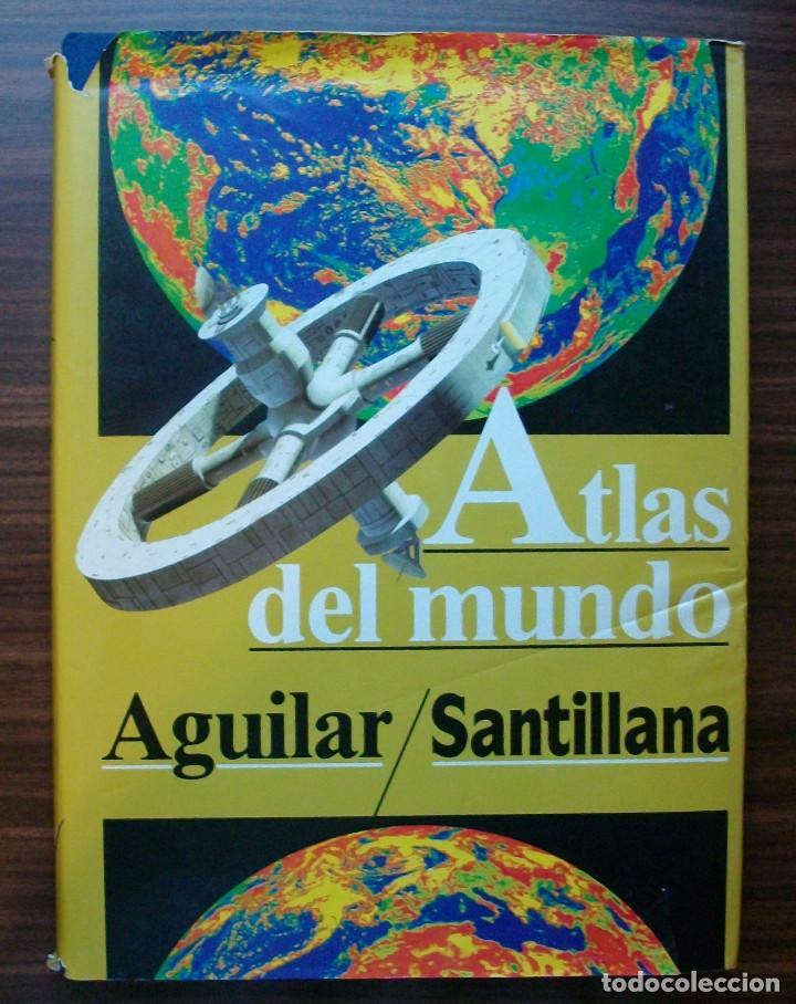 ATLAS DEL MUNDO. AGUILAR/ SANTILLANA. LUIS BERGQUIST (Libros Nuevos - Diccionarios y Enciclopedias - Enciclopedias)