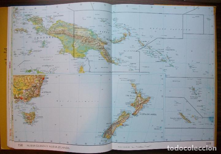Enciclopedias: ATLAS DEL MUNDO. AGUILAR/ SANTILLANA. Luis Bergquist - Foto 6 - 137353242