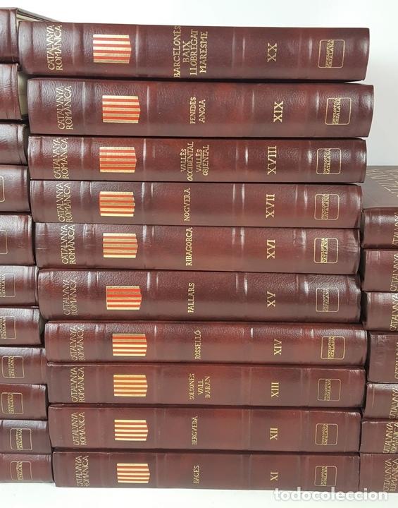 Enciclopedias: CATALUNYA ROMÀNICA. OBRA COMPLETA. 28 TOMOS. ENCICLOPEDIA CATALANA. ESPAÑA. 1984/1999. - Foto 2 - 139536618