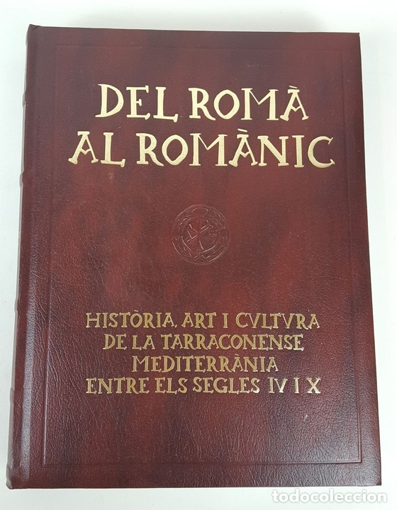 Enciclopedias: CATALUNYA ROMÀNICA. OBRA COMPLETA. 28 TOMOS. ENCICLOPEDIA CATALANA. ESPAÑA. 1984/1999. - Foto 4 - 139536618