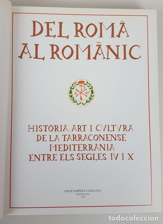 Enciclopedias: CATALUNYA ROMÀNICA. OBRA COMPLETA. 28 TOMOS. ENCICLOPEDIA CATALANA. ESPAÑA. 1984/1999. - Foto 5 - 139536618
