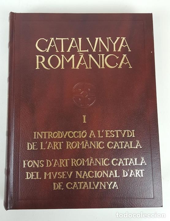 Enciclopedias: CATALUNYA ROMÀNICA. OBRA COMPLETA. 28 TOMOS. ENCICLOPEDIA CATALANA. ESPAÑA. 1984/1999. - Foto 6 - 139536618