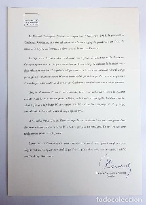 Enciclopedias: CATALUNYA ROMÀNICA. OBRA COMPLETA. 28 TOMOS. ENCICLOPEDIA CATALANA. ESPAÑA. 1984/1999. - Foto 8 - 139536618