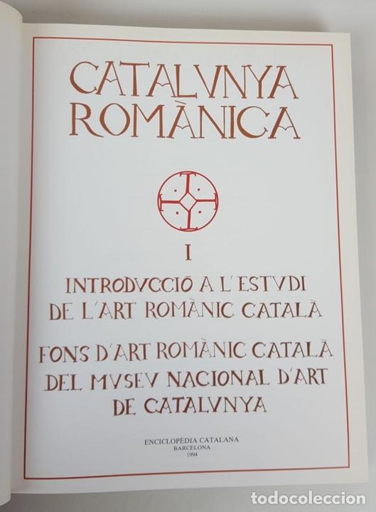 Enciclopedias: CATALUNYA ROMÀNICA. OBRA COMPLETA. 28 TOMOS. ENCICLOPEDIA CATALANA. ESPAÑA. 1984/1999. - Foto 9 - 139536618