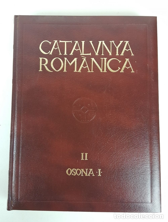 Enciclopedias: CATALUNYA ROMÀNICA. OBRA COMPLETA. 28 TOMOS. ENCICLOPEDIA CATALANA. ESPAÑA. 1984/1999. - Foto 11 - 139536618