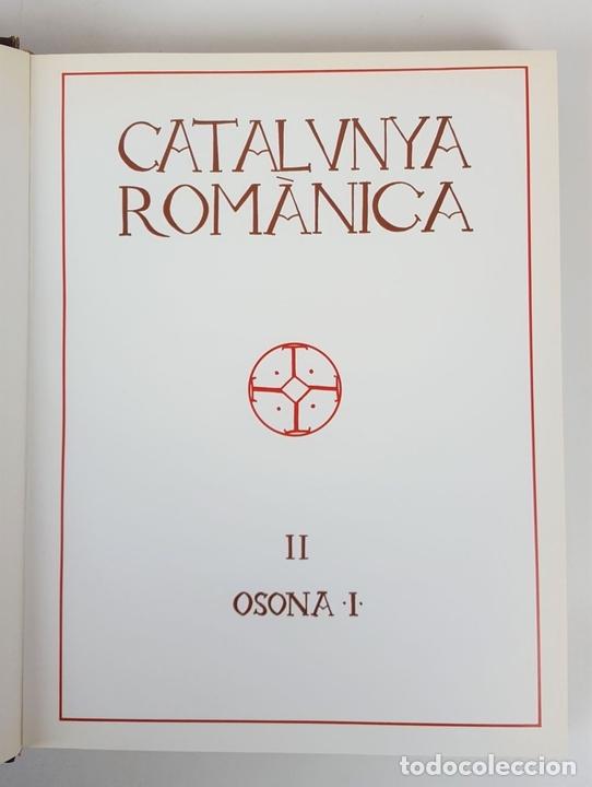 Enciclopedias: CATALUNYA ROMÀNICA. OBRA COMPLETA. 28 TOMOS. ENCICLOPEDIA CATALANA. ESPAÑA. 1984/1999. - Foto 12 - 139536618