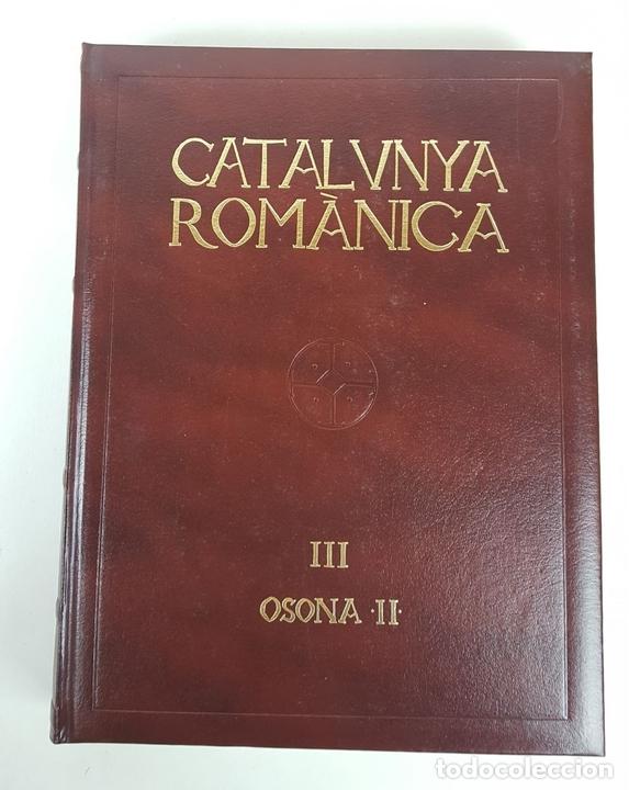 Enciclopedias: CATALUNYA ROMÀNICA. OBRA COMPLETA. 28 TOMOS. ENCICLOPEDIA CATALANA. ESPAÑA. 1984/1999. - Foto 14 - 139536618