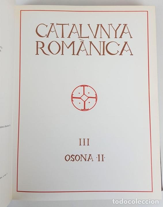 Enciclopedias: CATALUNYA ROMÀNICA. OBRA COMPLETA. 28 TOMOS. ENCICLOPEDIA CATALANA. ESPAÑA. 1984/1999. - Foto 17 - 139536618