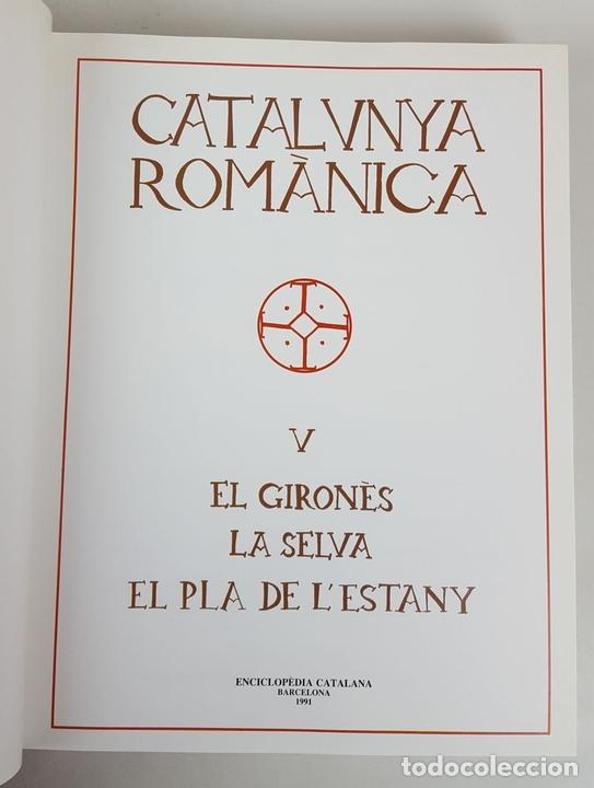 Enciclopedias: CATALUNYA ROMÀNICA. OBRA COMPLETA. 28 TOMOS. ENCICLOPEDIA CATALANA. ESPAÑA. 1984/1999. - Foto 19 - 139536618