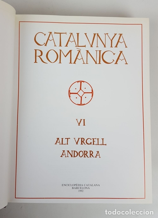 Enciclopedias: CATALUNYA ROMÀNICA. OBRA COMPLETA. 28 TOMOS. ENCICLOPEDIA CATALANA. ESPAÑA. 1984/1999. - Foto 21 - 139536618