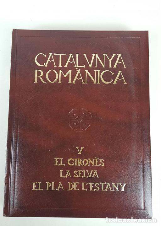 Enciclopedias: CATALUNYA ROMÀNICA. OBRA COMPLETA. 28 TOMOS. ENCICLOPEDIA CATALANA. ESPAÑA. 1984/1999. - Foto 25 - 139536618