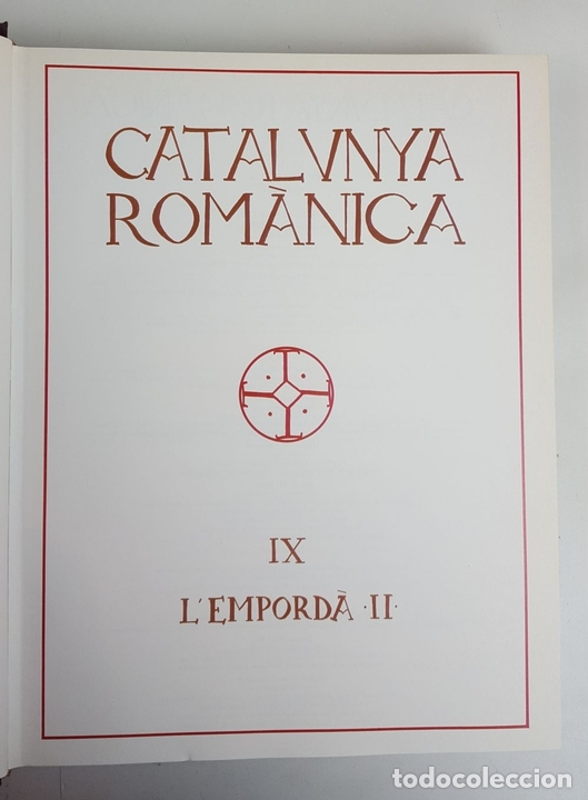 Enciclopedias: CATALUNYA ROMÀNICA. OBRA COMPLETA. 28 TOMOS. ENCICLOPEDIA CATALANA. ESPAÑA. 1984/1999. - Foto 30 - 139536618
