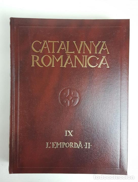 Enciclopedias: CATALUNYA ROMÀNICA. OBRA COMPLETA. 28 TOMOS. ENCICLOPEDIA CATALANA. ESPAÑA. 1984/1999. - Foto 33 - 139536618