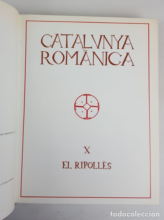 Enciclopedias: CATALUNYA ROMÀNICA. OBRA COMPLETA. 28 TOMOS. ENCICLOPEDIA CATALANA. ESPAÑA. 1984/1999. - Foto 34 - 139536618