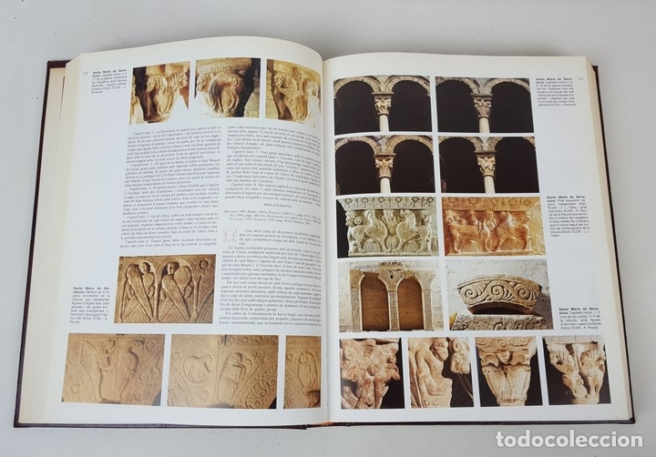 Enciclopedias: CATALUNYA ROMÀNICA. OBRA COMPLETA. 28 TOMOS. ENCICLOPEDIA CATALANA. ESPAÑA. 1984/1999. - Foto 49 - 139536618