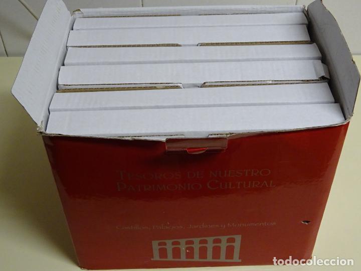 Enciclopedias: ENCICLOPEDIA 6 VOLUMENES TOMOS PRECINTADOS. TESOROS DE NUESTRO PATRIMONIO CULTURAL. DISCUSAL 13 KG - Foto 2 - 142324458