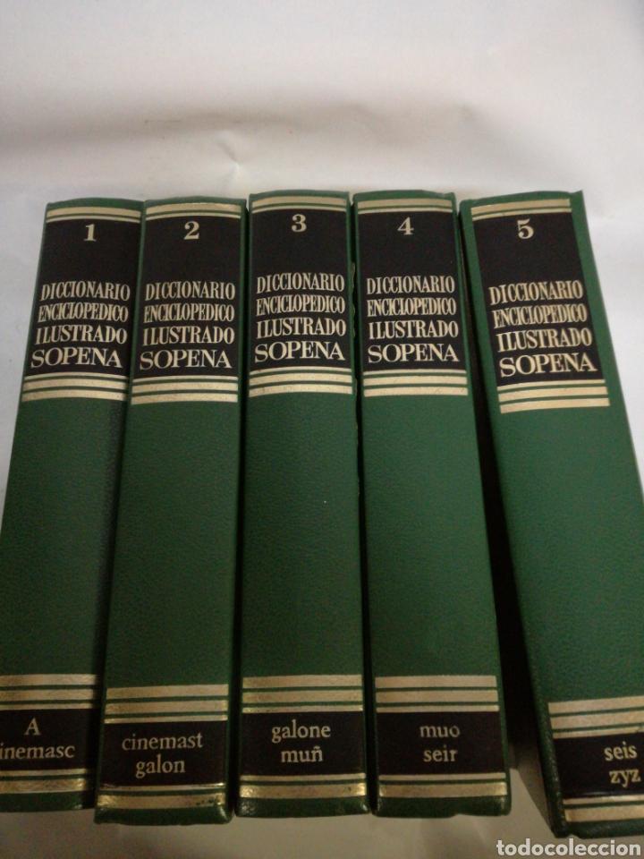LOTE DICCIONARIO ENCICLOPEDICO ILUSTRADO SOPENA TOMOS 1-2-3-4-5 (Libros Nuevos - Diccionarios y Enciclopedias - Enciclopedias)