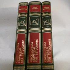 Enciclopedias: LOTE ENCICLOPEDIA UNIVERSAL DEL ESTUDIANTE. Lote 142805408