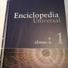 Enciclopedias: ENCICLOPEDIA UNIVERSAL TOMO 1. EDITORIAL-SALVAT. Lote 142807320
