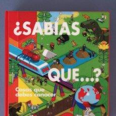 Enciclopedias: ¿SABÍAS QUÉ? LIBRO. Lote 142919154