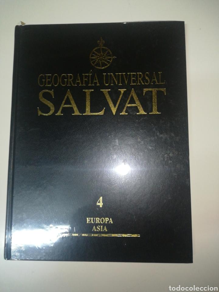 GEOGRAFÍA UNIVERSAL SALVAT 4 EUROPA - ASIA (Libros Nuevos - Diccionarios y Enciclopedias - Enciclopedias)