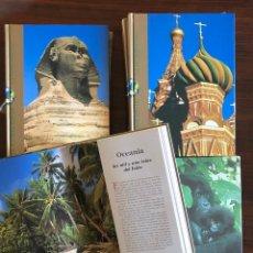Enciclopedias: ENCICLOPEDIA PATRIMONIO DE LA HUMANIDAD. COMPLETA, CALIDAD DE EDICIÓN Y GRÁFICA. 27X20 CM.. Lote 145410842