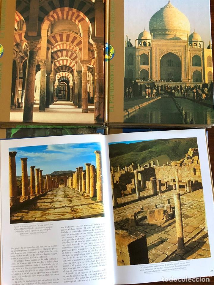 Enciclopedias: ENCICLOPEDIA PATRIMONIO DE LA HUMANIDAD. COMPLETA, CALIDAD DE EDICIÓN Y GRÁFICA. 27x20 cm. - Foto 2 - 145410842