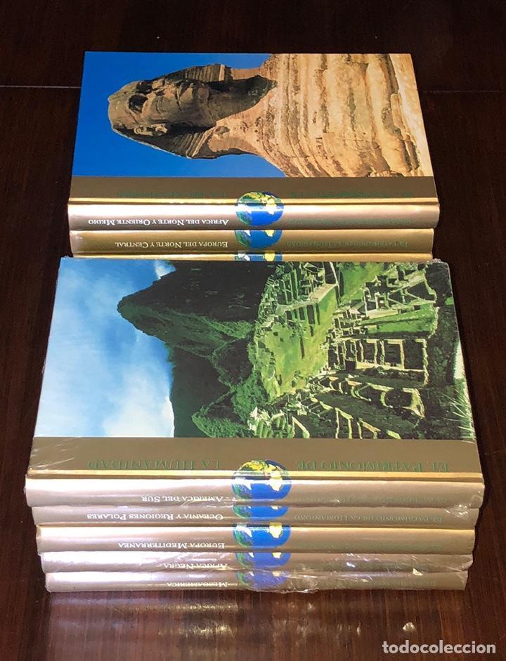 Enciclopedias: ENCICLOPEDIA PATRIMONIO DE LA HUMANIDAD. COMPLETA, CALIDAD DE EDICIÓN Y GRÁFICA. 27x20 cm. - Foto 4 - 145410842