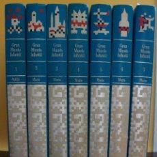 Enciclopedias: GRAN MUNDO INFANTIL. 7 TOMOS. EDITORIAL MARIN, 2ª EDICION, 1972, 1973.. Lote 146292214