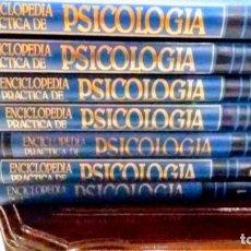 Enciclopedias: GRAN ENCICLOPEDIA PRACTICA DE PSICOLOGIA. 8 TOMOS. Lote 146682346